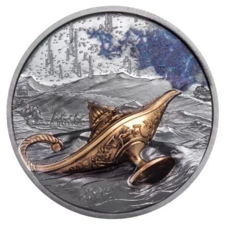 2021 Palau 1 oz Silver Proof Magical Lamp - 1001 Nights