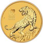 2022 1 oz Australian Gold Lunar Tiger
