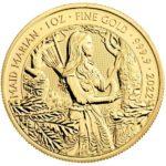 2022 1 oz British Maid Marian Gold Coin