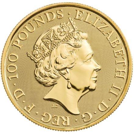 2022 1 oz British Maid Marian Gold Coin (PRE-SALE 9/20/21)