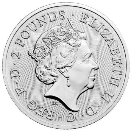 2022 1 oz British Maid Marian Silver Coin (PRE-SALE 9/20/21)