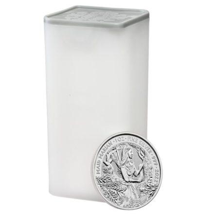 2022 1 oz British Maid Marian Silver Coin Tube