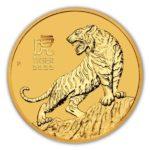 2022 1/2 oz Australian Gold Lunar Tiger
