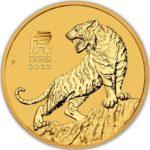2022 2 oz Australian Gold Lunar Tiger