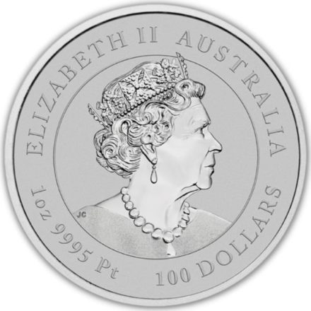 2022 Australian 1 oz Platinum Lunar Tiger
