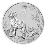 2022 Australian 1/2 oz Silver Lunar Tiger