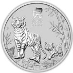 2022 Australian 5 oz Silver Lunar Tiger