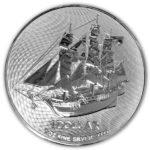 2022 Cook Islands 1 oz Silver HMS Bounty Coin