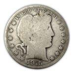 90% Silver Barber Half $1 Face Value - AGG