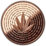 Cannabis Nature's Holiday 1 oz Copper Round