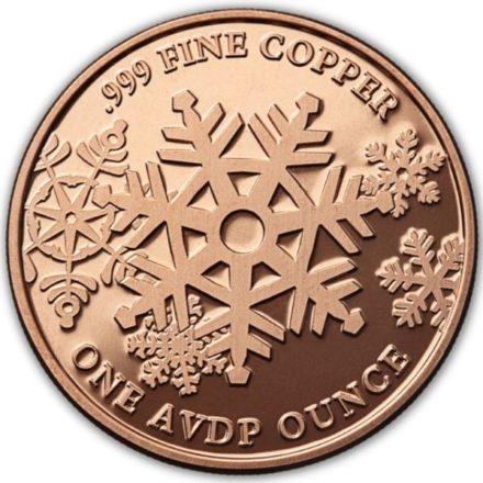 Santa 1 oz Copper Round
