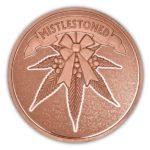 MistleStoned 1 oz Copper Round