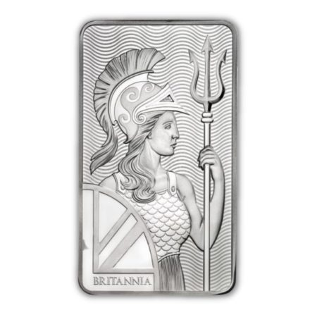 Royal Mint Britannia 10 oz Silver Bar