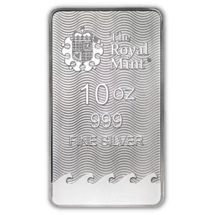 Royal Mint Britannia 10 oz Silver Bar (PRE-SALE 9/23/21)