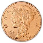 Zombucks Murk Diem 1 oz Copper Round