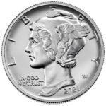 2021 1 oz American Palladium Eagle Coin Obverse