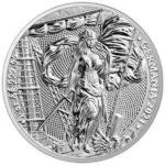 2021 Lady Germania 1 oz Silver Round Obverse