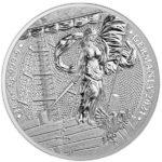2021 Lady Germania 10 oz Silver Round obverse