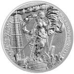 2021 Lady Germania 2 oz Silver Round Obverse
