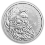 2021 Santa 1 oz Silver Round
