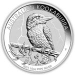 2021 10 oz Silver Kookaburra Coin (Cracked Capsule)