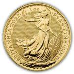 2022 British 1 oz Gold Britannia Coin