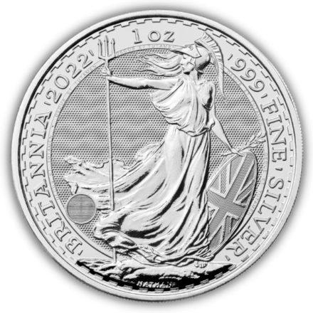 2022 British 1 oz Silver Britannia Coin