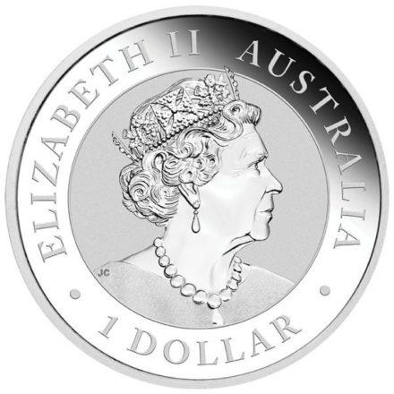 2022 Australia 1 oz Silver Kookaburra Coin Effigy