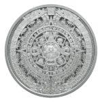 Aztec Calendar 1/2 oz Silver Round Obverse
