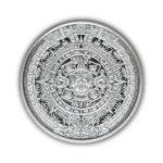 Aztec Calendar 1/4 oz Silver Round Obverse