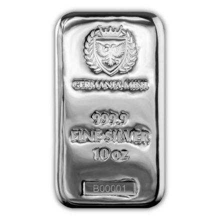 Germania Mint 10 oz Silver Bar