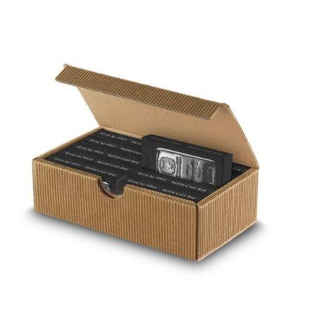 Germania Mint 10 oz Silver Bar Open Case & Bar