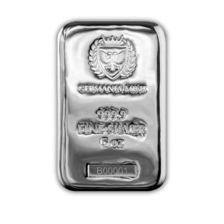 Germania Mint 5 oz Silver Bar