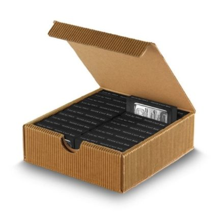 Germania Mint 5 oz Silver Bar Open Box and Bar